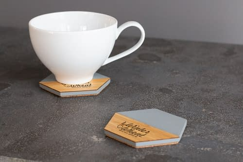 stick and stone coaster set